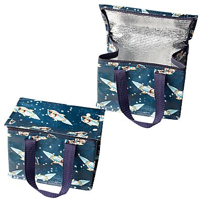 Rex Spaceboy Lunch Bag, Blue