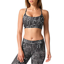 Buy Human Performance Engineering HPE Snake Sports Bra, Black Online at johnlewis.com