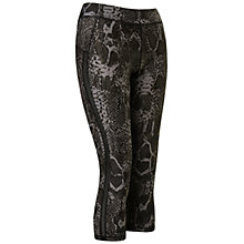Buy Human Performance Engineering HPE Snake Curve 3/4 Leggings, Black Online at johnlewis.com