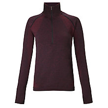 Buy Human Performance Engineering HPE Cross Seamless X 1/4 Zip Long Sleeve Top, Plum Online at johnlewis.com