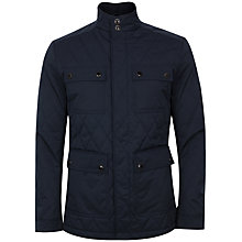 Buy Ted Baker Dreavyn Quilted Jacket, Navy Online at johnlewis.com