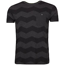 Buy Ted Baker Frekik Zigzag Print T-Shirt Online at johnlewis.com