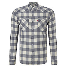 Buy Levi's Barstow Western Estrella Check Shirt Online at johnlewis.com