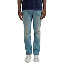 Buy Levi's Dusted 511 Slim Jeans, Light Wash Online at johnlewis.com