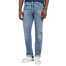 Buy Levi's 504 Relic Straight Jeans, Light Wash Online at johnlewis.com