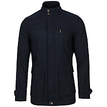Buy Ted Baker Jarbrig Layering Field Jacket, Navy Online at johnlewis.com