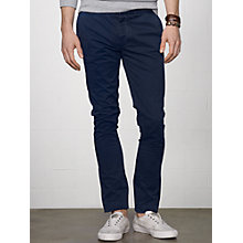 Buy Denim & Supply Ralph Lauren Officer Slim Chinos, Midnight Navy Online at johnlewis.com