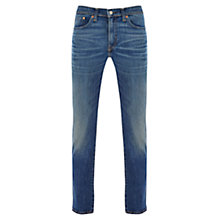 Buy Levi's 511 Slim Fit Mr White Jeans, Mid Wash Online at johnlewis.com