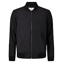 Buy Levi's Thermore Varsity Bomber Jacket, Black Online at johnlewis.com