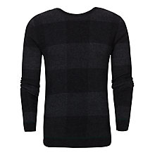Buy Ted Baker Lowgan Checked Jumper, Grey Online at johnlewis.com