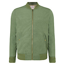 Buy Levi's Thermore Varsity Bomber Jacket, Vineyard Green Online at johnlewis.com