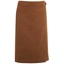 Buy Miss Selfridge Suedette D-Ring Skirt, Camel Online at johnlewis.com