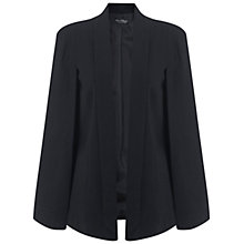 Buy Miss Selfridge Cape Sleeve Jacket, Black Online at johnlewis.com