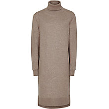 Buy Reiss Gilmore Roll Neck Knitted Dress, Minx Online at johnlewis.com