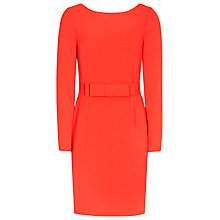 Buy Reiss Genie Bow Front Dress, Mandarin Online at johnlewis.com