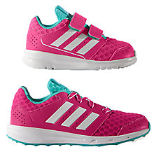 Buy Adidas Children's LK Sport 2 Rip Tape Trainers, Pink Online at johnlewis.com