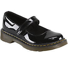 Buy Dr Martens Children's Tully Mary Jane Shoes, Black Online at johnlewis.com