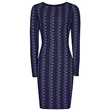 Buy Reiss Avril Bodycon Dress, Multi Blue Online at johnlewis.com