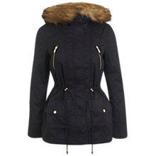 Buy Miss Selfridge Petite Parka Coat Online at johnlewis.com