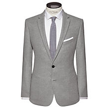 Buy Kin by John Lewis Sette Melange Slim Fit Blazer, Light Grey Online at johnlewis.com