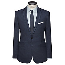 Buy Kin by John Lewis Strata Fleck Slim Fit Blazer, Ink Online at johnlewis.com
