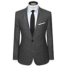 Buy Kin by John Lewis Anders Tile Slim Fit Blazer, Charcoal Online at johnlewis.com