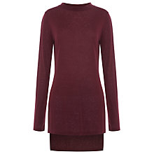 Buy Whistles Longline Side Split Top Online at johnlewis.com