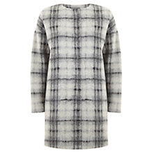 Buy Mint Velvet Check Cocoon Coat, Multi Online at johnlewis.com