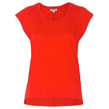 Buy Whistles Seam Back T-Shirt, Red Online at johnlewis.com