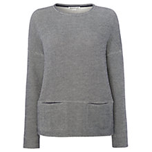 Buy Whistles Pocket Sweater, Navy Online at johnlewis.com