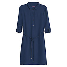 Buy Violeta by Mango Shirt Dress, Navy Online at johnlewis.com