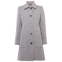 Buy Whistles Sasha Slim Coat, Grey Online at johnlewis.com