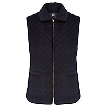 Buy Viyella Cord Gilet, Navy Online at johnlewis.com