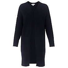 Buy Whistles Pocket Cardigan, Navy Online at johnlewis.com