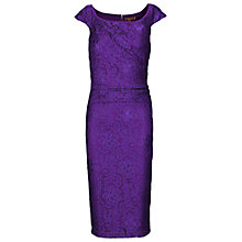 Buy Jolie Moi Lace Ruched Dress Online at johnlewis.com