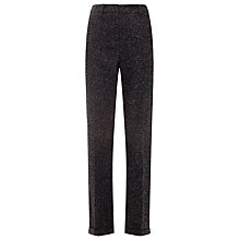 Buy Whistles Smith Donegal Slim Leg Trousers, Dark Grey Online at johnlewis.com