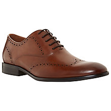 Buy Dune Reegal Wingtip Brogue Oxford Shoes Online at johnlewis.com