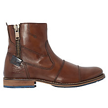 Buy Dune Cackle Toecap Zip Boots Online at johnlewis.com