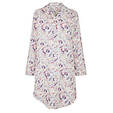 Buy John Lewis Paisley Print Nightshirt, Multi Online at johnlewis.com
