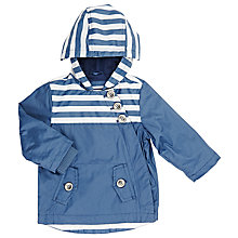 Buy John Lewis Baby Nautical Coat, Blue Online at johnlewis.com