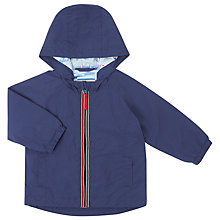 Buy John Lewis Baby Mac Coat, Blue Online at johnlewis.com