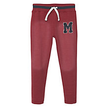 Buy Mango Kids Boys' Logo Joggers Online at johnlewis.com