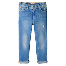 Buy Mango Kids Boys' Denim Jeans, Light Blue Online at johnlewis.com