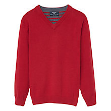 Buy Mango Kids Boys' Sweatshirt, Medium Red Online at johnlewis.com