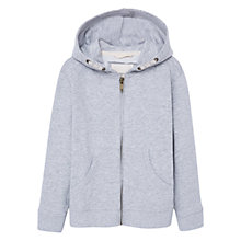 Buy Mango Kids Boys' Hoodie, Light Pastel Grey Online at johnlewis.com