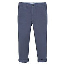 Buy Mango Kids Boys' Straight Trousers, Grey Online at johnlewis.com