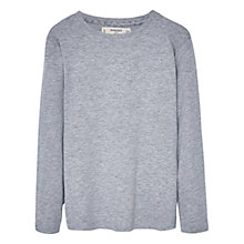Buy Mango Kids Boys' Long Sleeve T-Shirt, Medium Grey Online at johnlewis.com