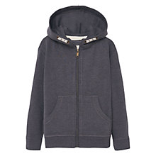 Buy Mango Kids Boys' Hoodie, Dark Grey Online at johnlewis.com