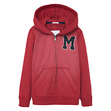 Buy Mango Kids Boys' Zipped Hoodie Online at johnlewis.com