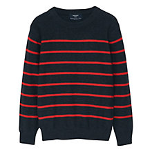 Buy Mango Kids Boys' Sweatshirt, Dark Grey Online at johnlewis.com